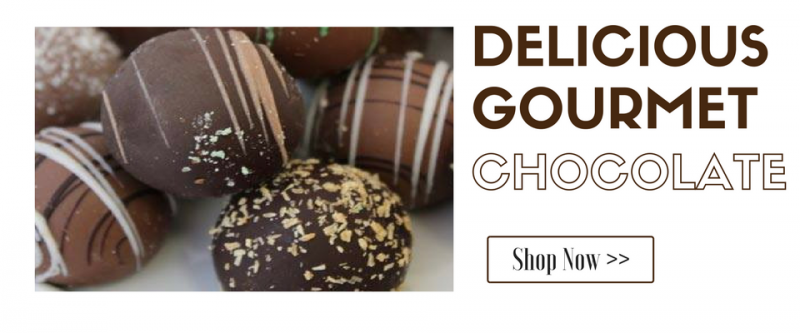 Shop Our Gourmet Truffles and Chocolates